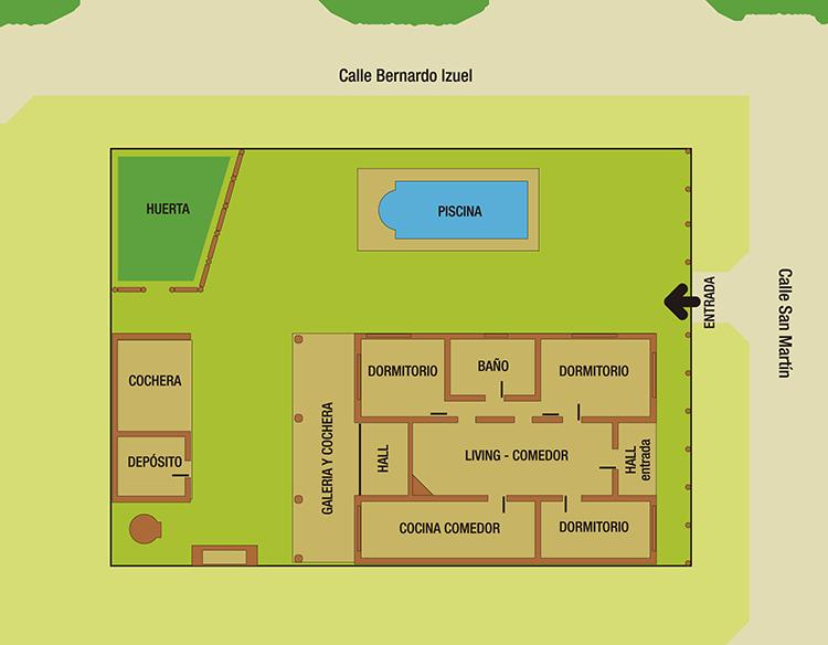 planos de casas quintas en argentina